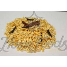 Garlic Masala Puffed Rice (Garlic Masala Poori)